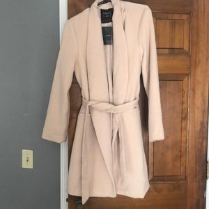 Jackets & Blazers - New peony wool blend coat